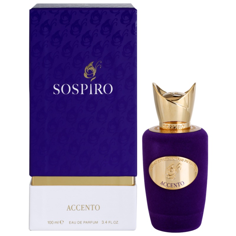 sospiro accento eau de parfum f r damen 100 ml. Black Bedroom Furniture Sets. Home Design Ideas