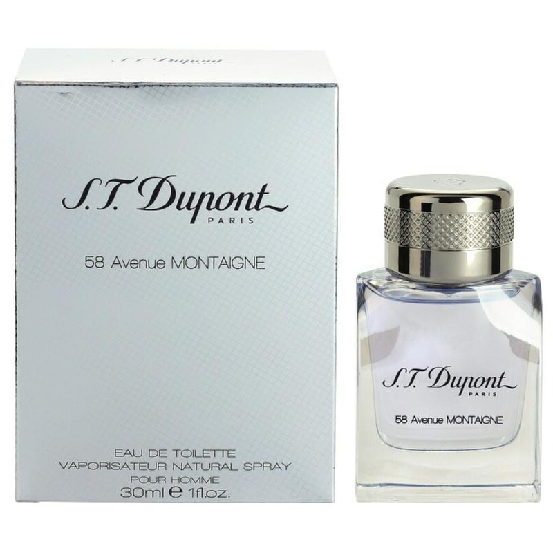 S.T. Dupont 58 Avenue Montaigne, Eau de Toilette for Men 100 ml ...
