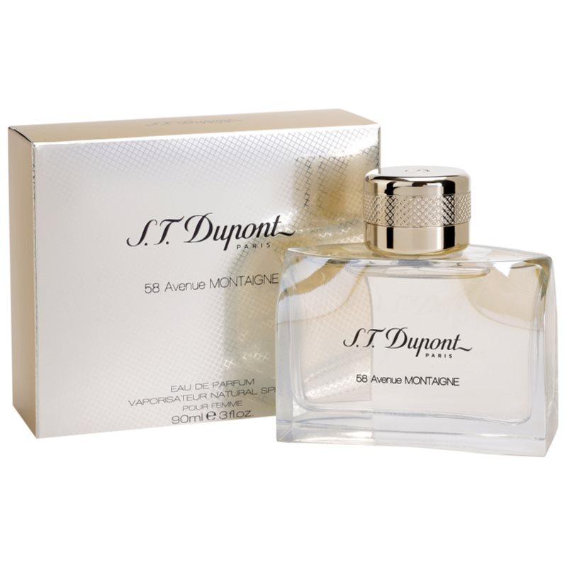 S.T. Dupont 58 Avenue Montaigne, Eau de Parfum for Women 90 ml ...