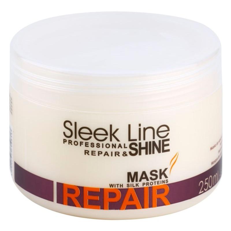 stapiz sleek line repair masque r novateur pour cheveux ab m s et trait s chimiquement. Black Bedroom Furniture Sets. Home Design Ideas