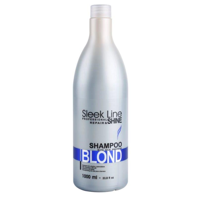 stapiz sleek line blond shampoo f r blonde und graue haare. Black Bedroom Furniture Sets. Home Design Ideas