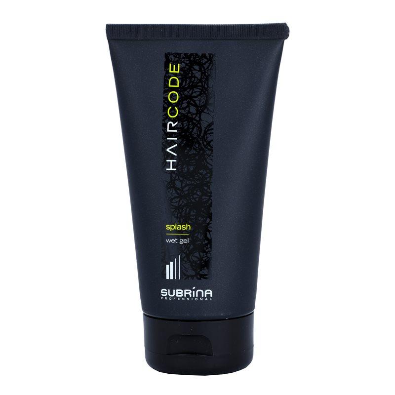Subrina professional hair code splash gel per capelli effetto bagnato - Gel effetto bagnato ...