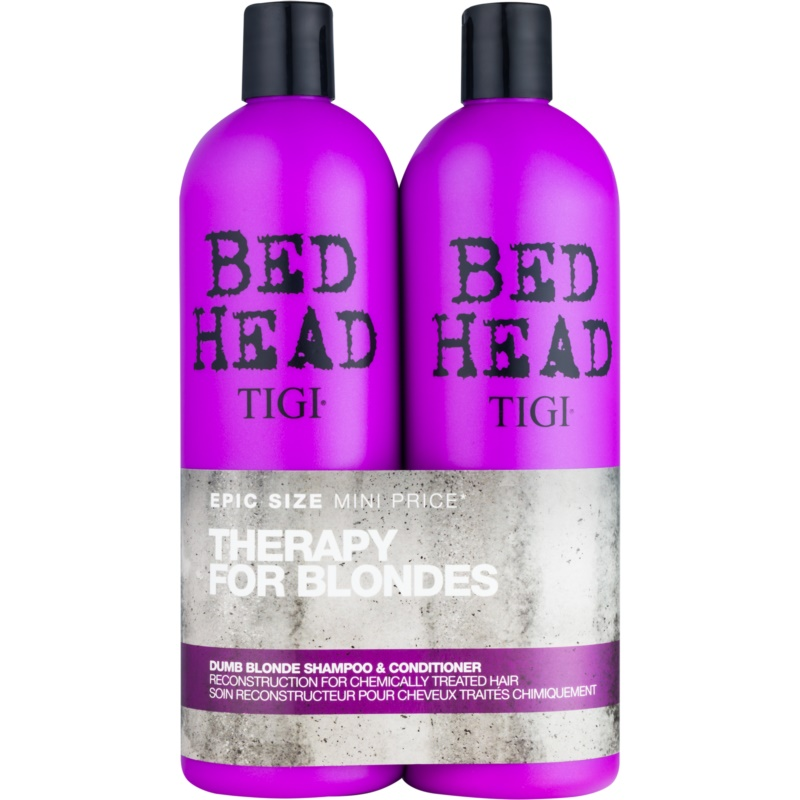 tigi bed head dumb blonde kosmetik set vii. Black Bedroom Furniture Sets. Home Design Ideas