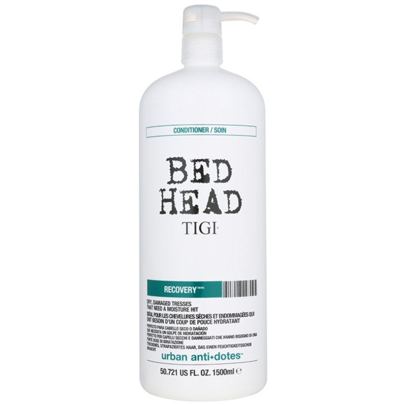 tigi bed head urban antidotes recovery conditioner for dry and damaged hair. Black Bedroom Furniture Sets. Home Design Ideas