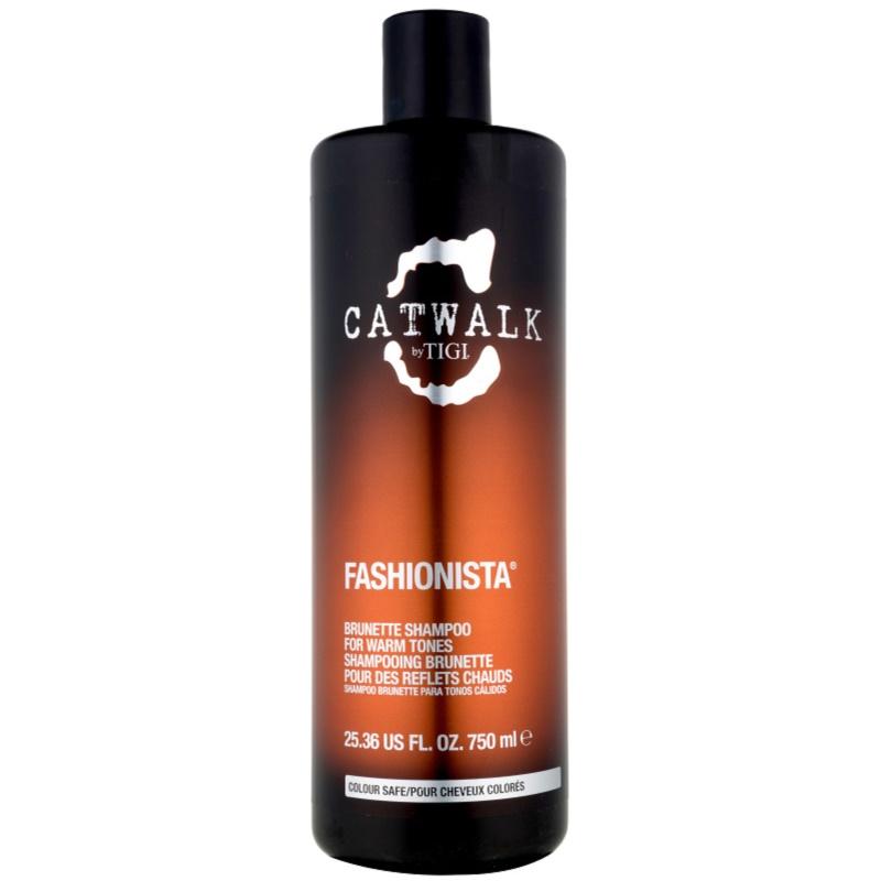 Tigi Catwalk Fashionista Shampoo Für Einen Warmen Farbton Brauner