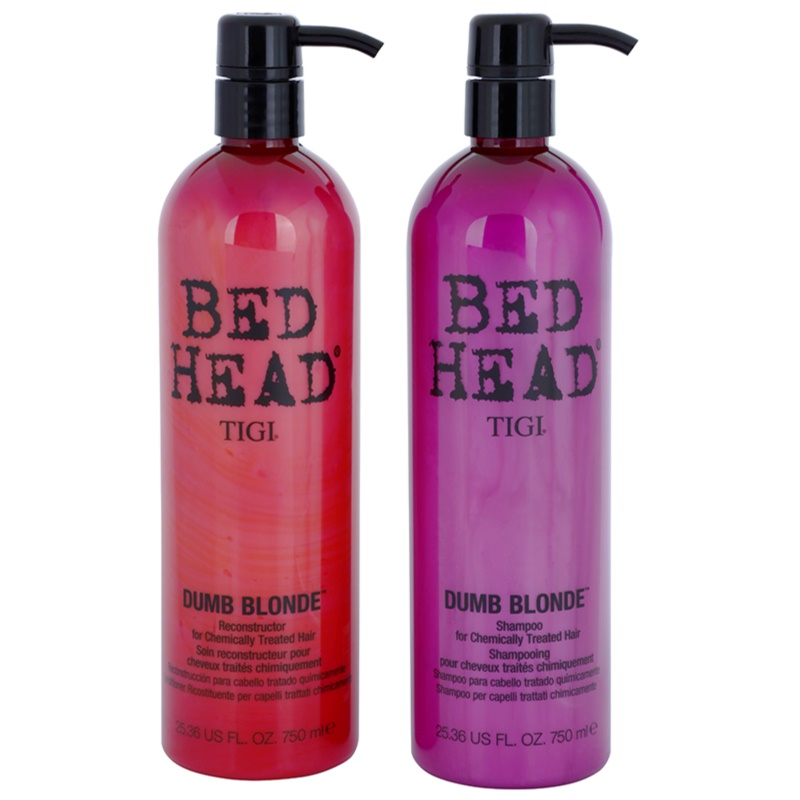 tigi bed head dumb blonde kosmetik set i. Black Bedroom Furniture Sets. Home Design Ideas