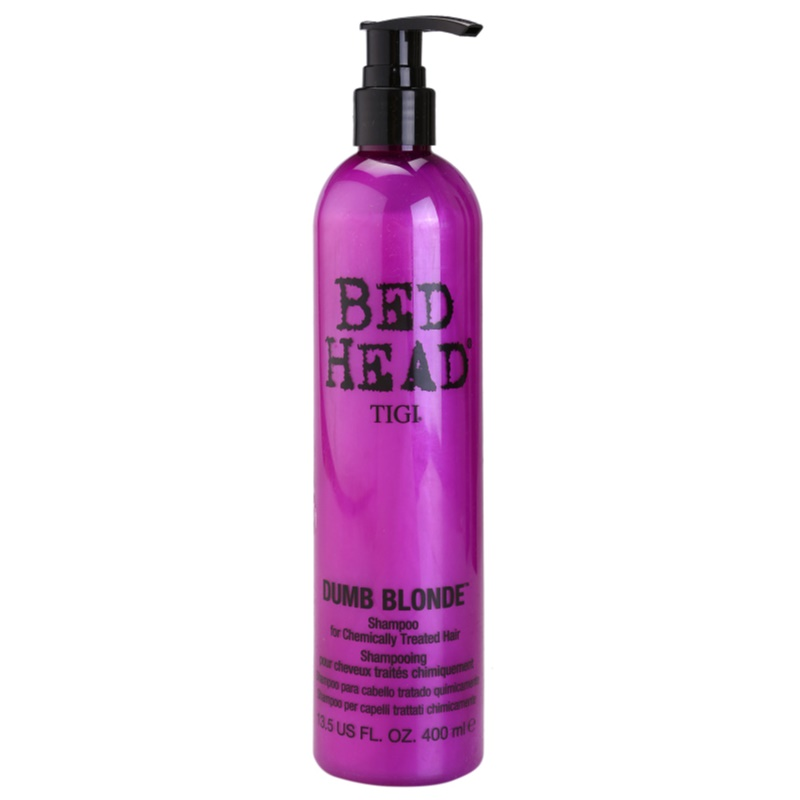 tigi bed head dumb blonde shampoo for chemically treated hair. Black Bedroom Furniture Sets. Home Design Ideas