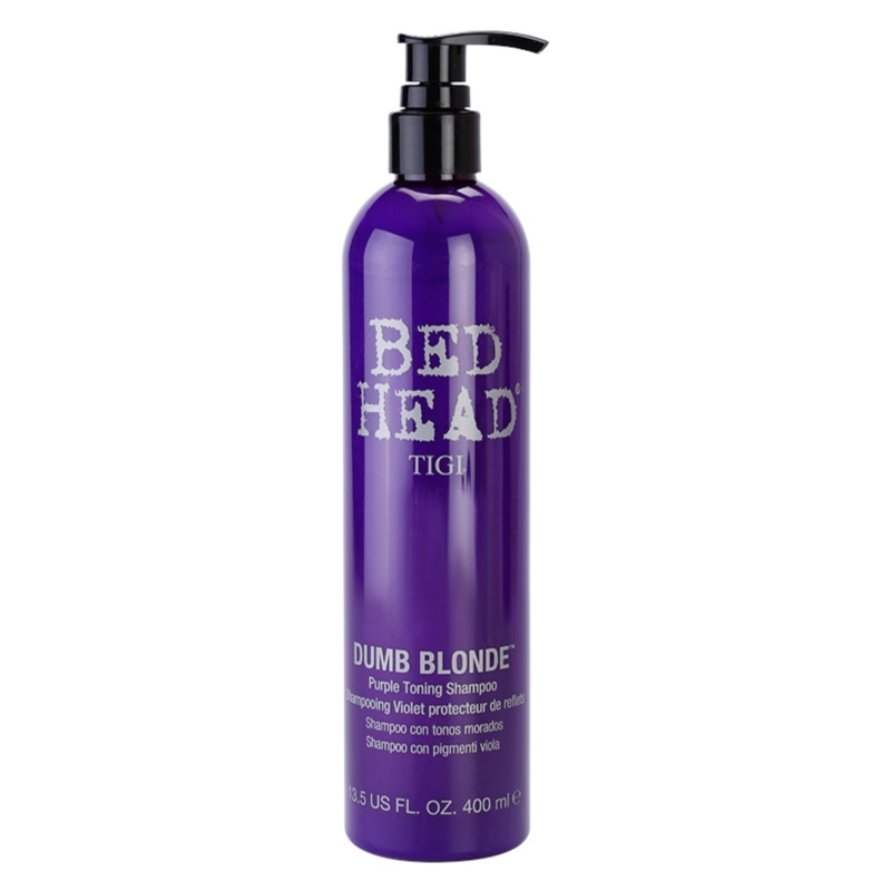 Bed Head Tigi Dumb Blonde Toning Shampoo Review