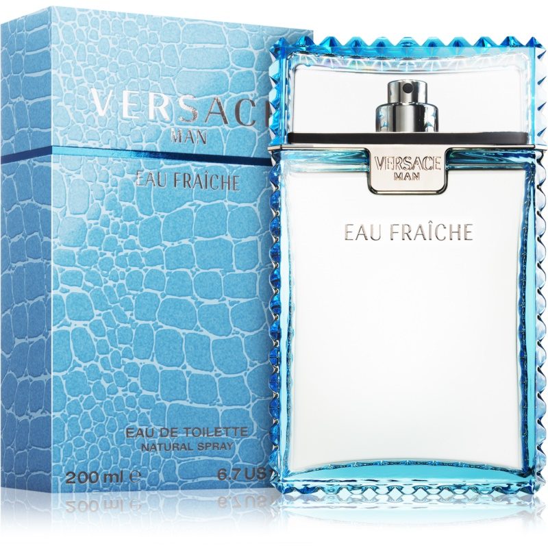 versace man eau fra che eau de toilette para hombre 100 ml. Black Bedroom Furniture Sets. Home Design Ideas
