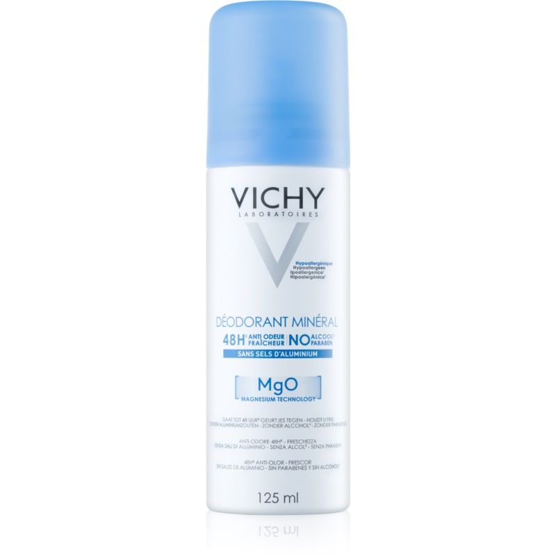 vichy deodorant d odorant min ral en spray 48h. Black Bedroom Furniture Sets. Home Design Ideas