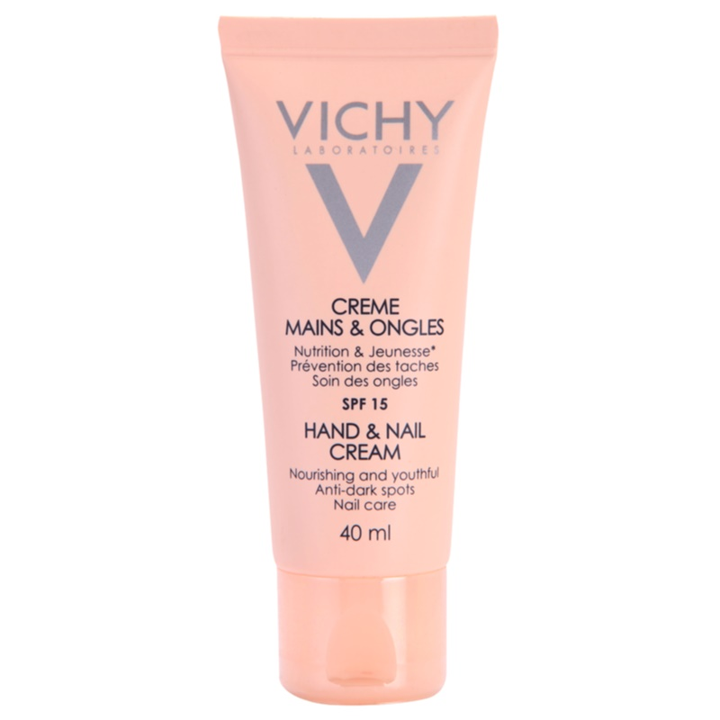 vichy hand nail cr me nourrissante mains et ongles anti taches brunes. Black Bedroom Furniture Sets. Home Design Ideas