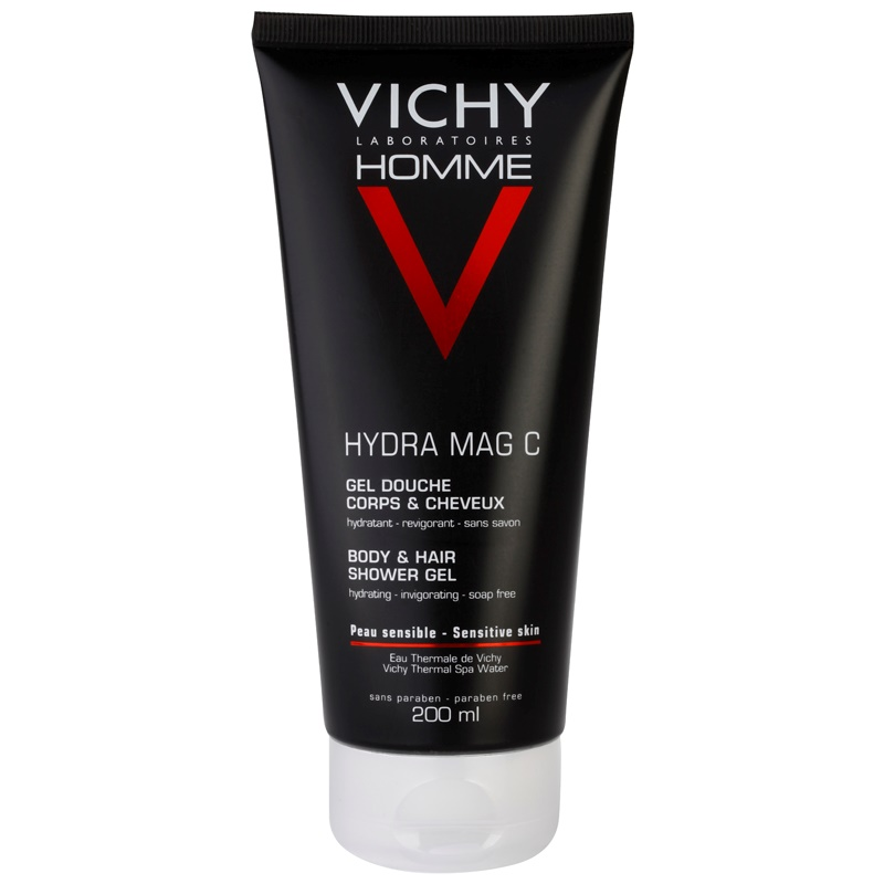vichy homme hydra mag c gel de douche corps et cheveux. Black Bedroom Furniture Sets. Home Design Ideas