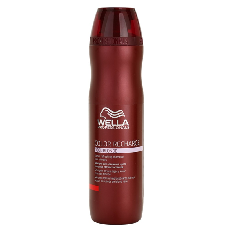 wella professionals color recharge shampoing violet pour nuances de blond froides. Black Bedroom Furniture Sets. Home Design Ideas