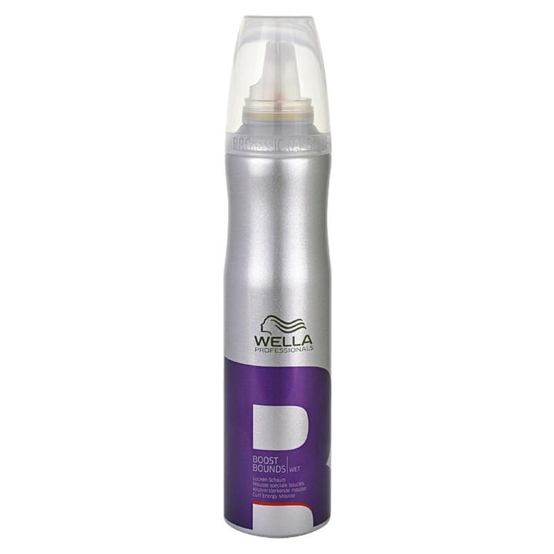 Wella Professionals Wet Boost Bounds Mousse Para Cabelo Ondulado