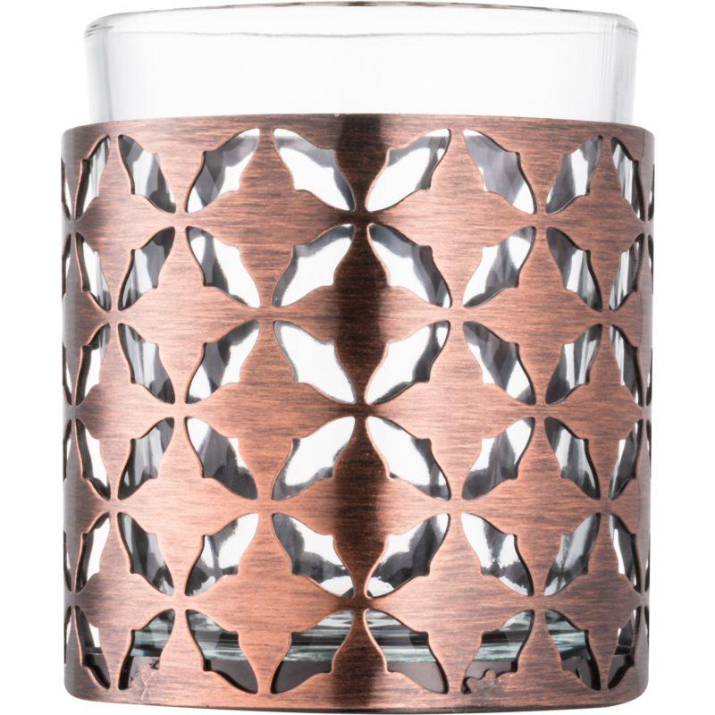 Yankee candle maroccan copper porte bougie votive en - Porte bougie en verre ...