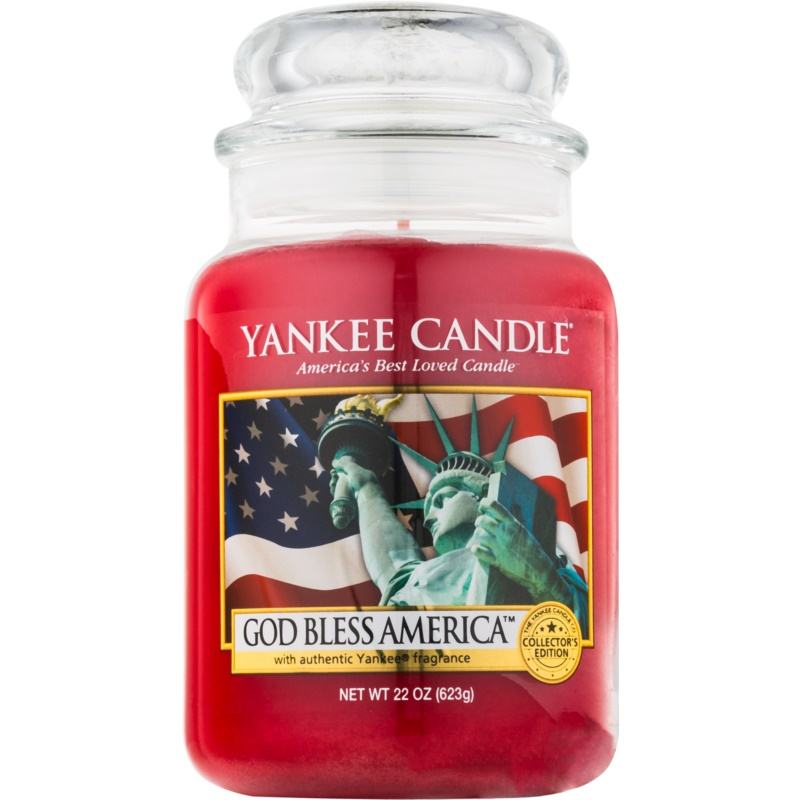 yankee candle god bless america bougie parfum e 623 g classic grande. Black Bedroom Furniture Sets. Home Design Ideas