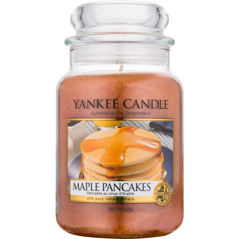 yankee candle maple pancakes bougie parfum e 623 g classic grande. Black Bedroom Furniture Sets. Home Design Ideas
