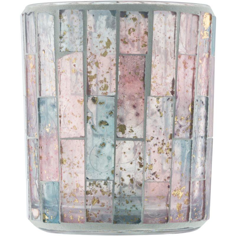 Yankee candle pastel romance porte bougie votive en verre - Porte bougie en verre ...