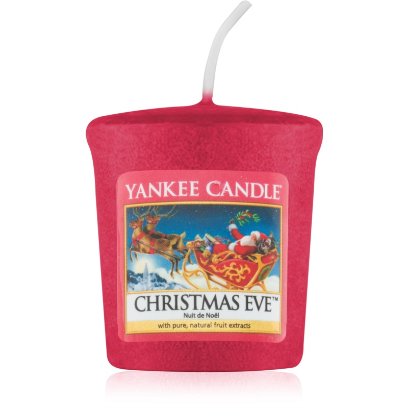 yankee candle christmas eve bougie votive 49 g. Black Bedroom Furniture Sets. Home Design Ideas