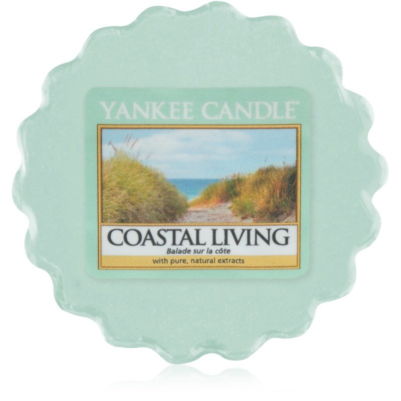yankee candle coastal living wachs f r aromalampen 22 g. Black Bedroom Furniture Sets. Home Design Ideas