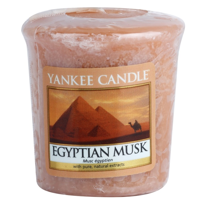 yankee candle egyptian musk bougie votive 49 g. Black Bedroom Furniture Sets. Home Design Ideas