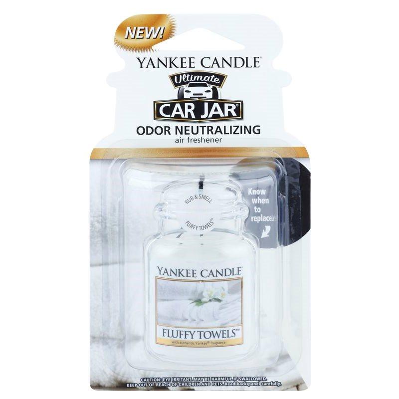 Yankee Candle Fluffy Towels, Car Air Freshener hanging   notino.co.uk