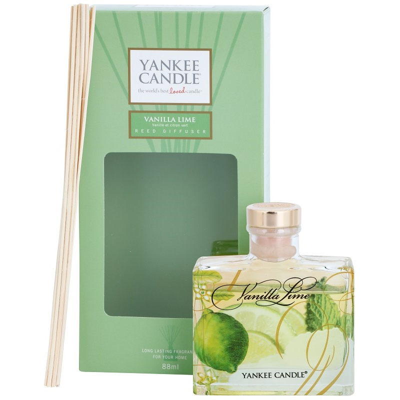 yankee candle vanilla lime aroma diffuser mit nachf llung. Black Bedroom Furniture Sets. Home Design Ideas