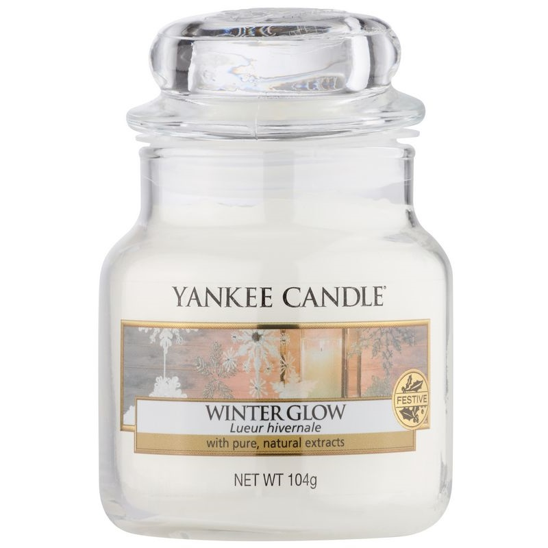 yankee candle winter glow bougie parfum e 623 g classic grande. Black Bedroom Furniture Sets. Home Design Ideas