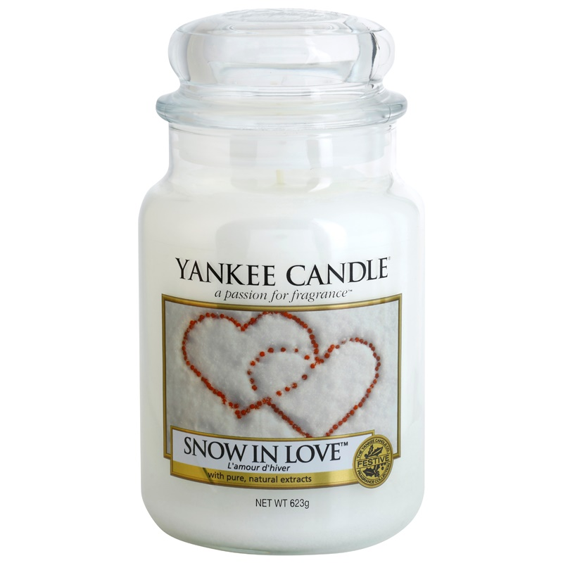 yankee candle snow in love duftkerze 623 g classic gro. Black Bedroom Furniture Sets. Home Design Ideas