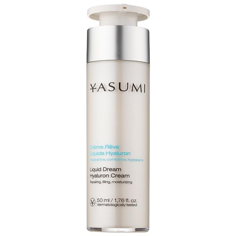 yasumi moisture cr me hydratante pour peaux s ches l 39 acide hyaluronique. Black Bedroom Furniture Sets. Home Design Ideas