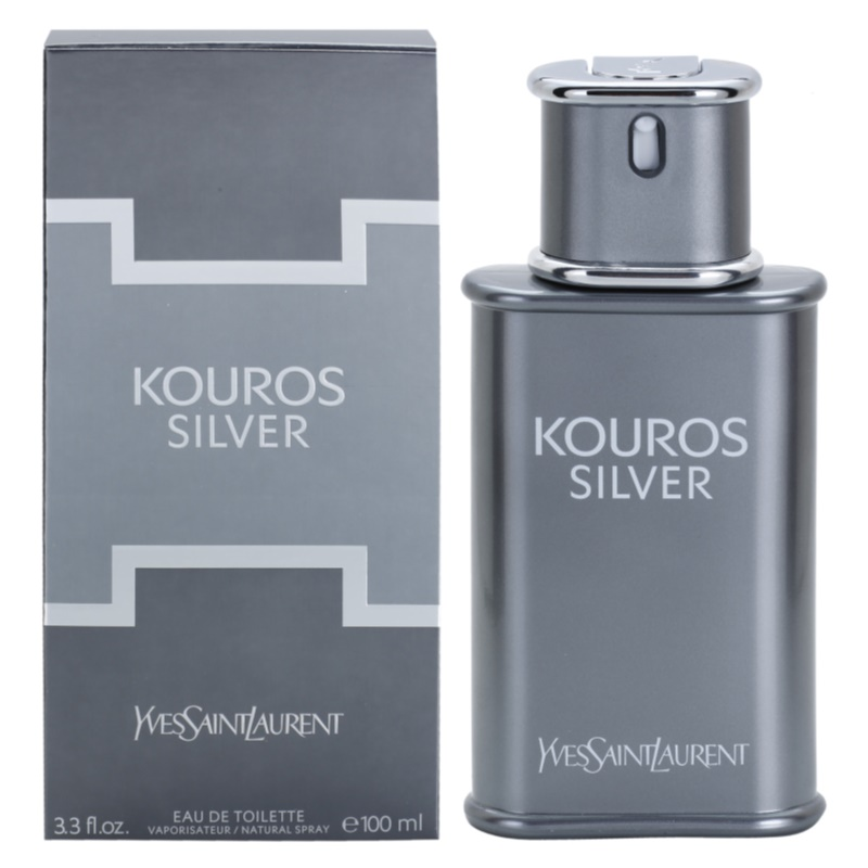 yves saint laurent kouros silver eau de toilette pour homme 100 ml. Black Bedroom Furniture Sets. Home Design Ideas
