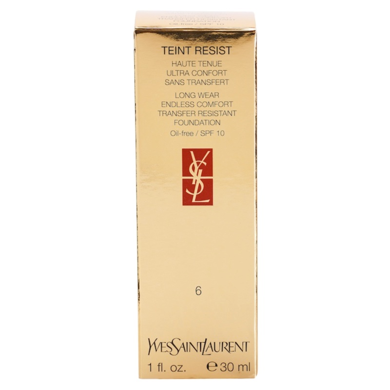 Yves saint laurent teint resist liquid foundation notino for Miroir yves saint laurent