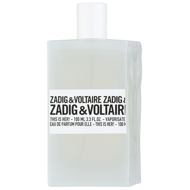 zadig voltaire this is her eau de parfum para mujer 100 ml. Black Bedroom Furniture Sets. Home Design Ideas