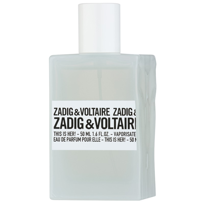 zadig voltaire this is her eau de parfum per donna 100 ml. Black Bedroom Furniture Sets. Home Design Ideas