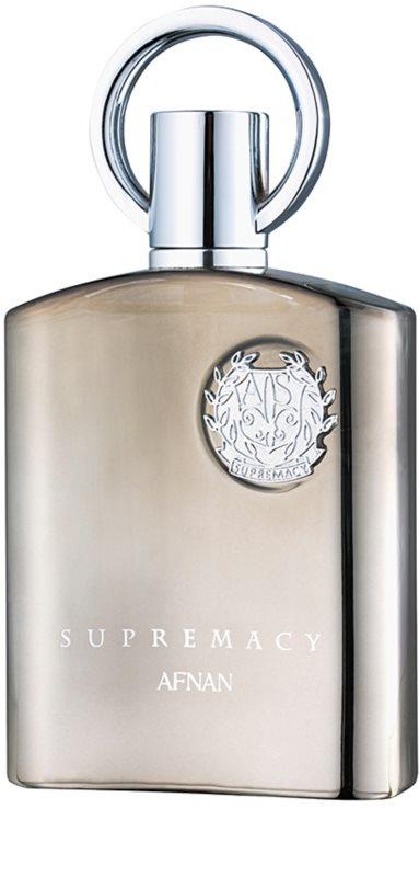 afnan supremacy silver eau de parfum f r herren 100 ml. Black Bedroom Furniture Sets. Home Design Ideas