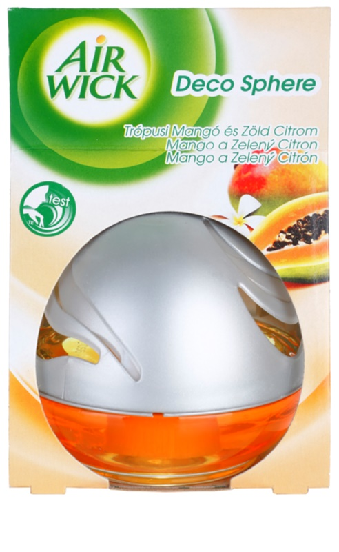 Air Wick Deco Sphere, Aroma Diffuser With Refill 75 ml Mango and ...