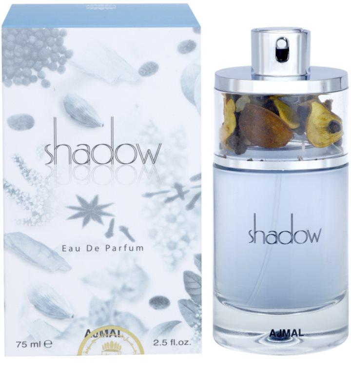 ajmal shadow for him eau de parfum f r herren 75 ml. Black Bedroom Furniture Sets. Home Design Ideas