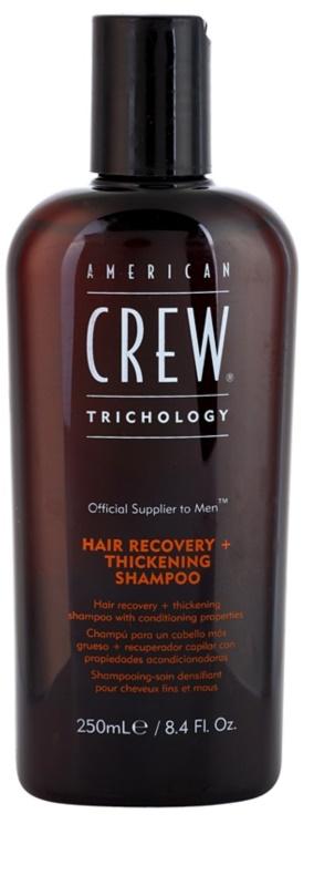 american crew trichology shampoing r novateur pour des cheveux plus pais. Black Bedroom Furniture Sets. Home Design Ideas
