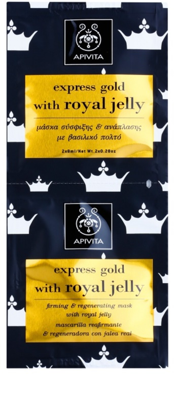 Apivita - Express Gold Firming & Regenrating Mask with Royal Jelly -6x(2x8ml) MaybellineВ® New York Maybelline Baby Lips Crystal Lip Balm, 0.15 oz