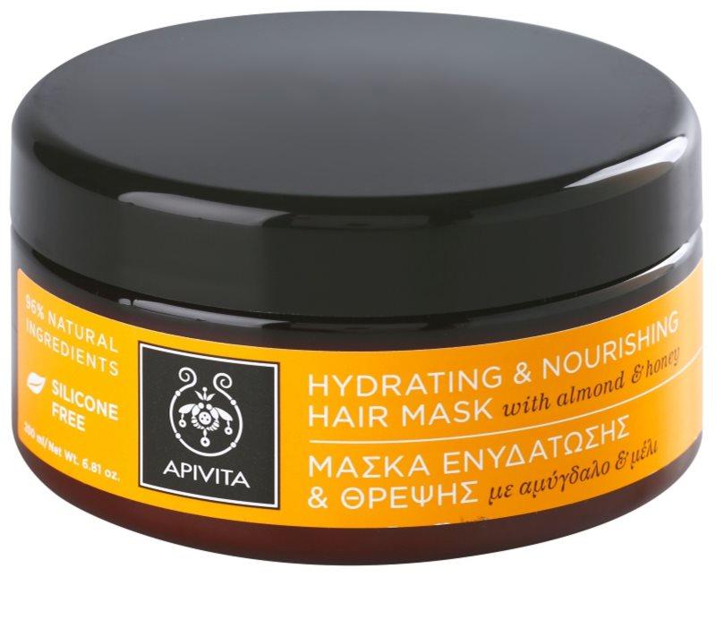 apivita holistic hair care almond honey masque. Black Bedroom Furniture Sets. Home Design Ideas