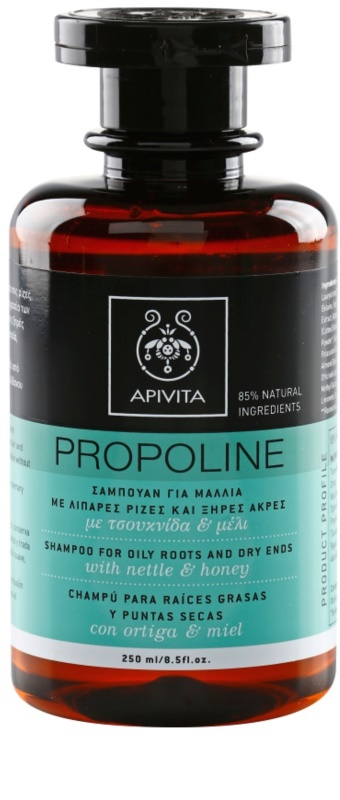apivita holistic hair care nettle honey shampoo f r. Black Bedroom Furniture Sets. Home Design Ideas