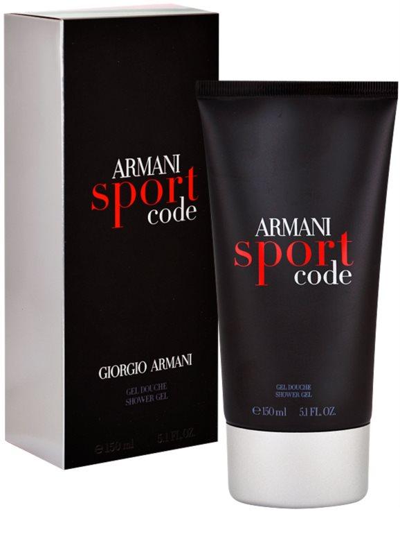 armani code sport duschgel f r herren 150 ml. Black Bedroom Furniture Sets. Home Design Ideas