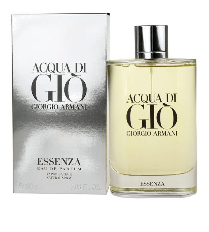Armani Acqua Di Gio Essenza Eau De Parfum Pour Homme 180