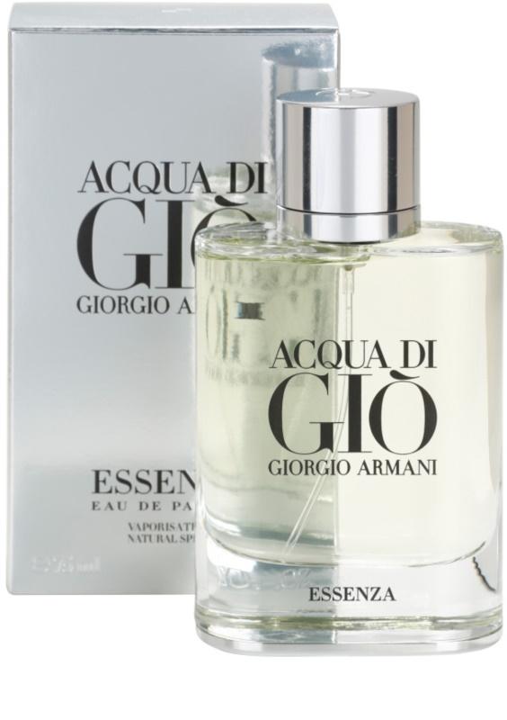 armani acqua di gio essenza eau de parfum for men 75 ml. Black Bedroom Furniture Sets. Home Design Ideas