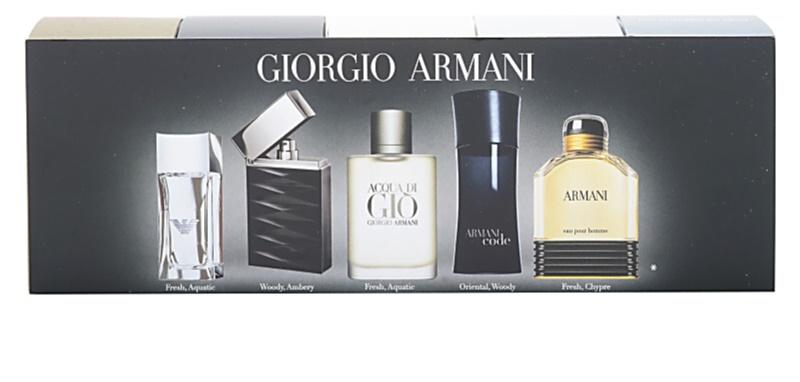 Armani mini confezione regalo ii - Emporio del mobile in kit ...