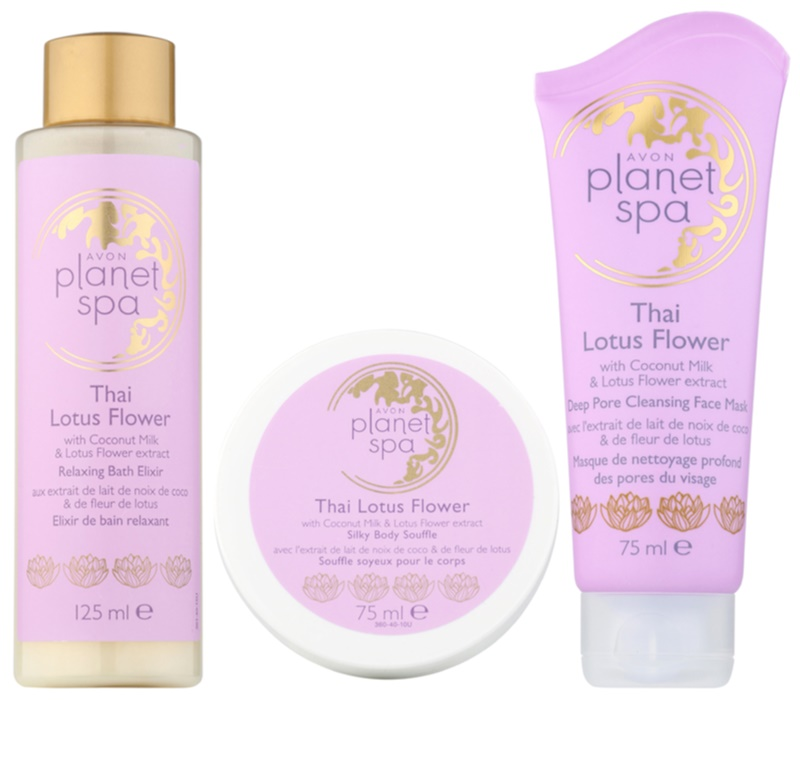 Avon planet spa thailand lotus flower cosmetic set i notino avon planet spa thailand lotus flower cosmetic set i mightylinksfo