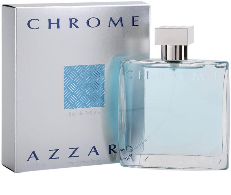 azzaro chrome eau de toilette pour homme 100 ml. Black Bedroom Furniture Sets. Home Design Ideas