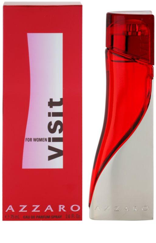Azzaro Visit For Women Eau De Parfum For Women 75 Ml Notinocouk