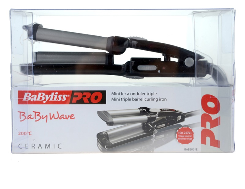 how to use babyliss pro curling iron