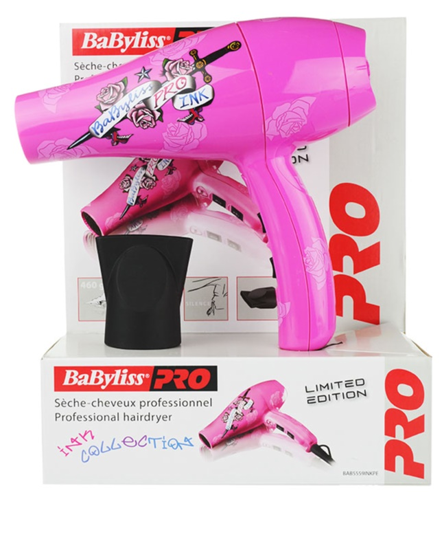 BABYLISS PRO DRYERS INK COLLECTION fén na vlasy + kartáč  a3fc4eaa41e